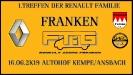 1.Treffen der Renault Familie Franken 2019
